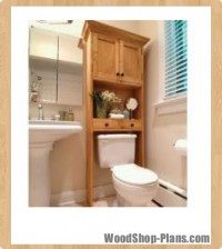 Bathroom wall cabinet woodworking plans