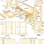 Craftsmans workbench woodworking plans 09