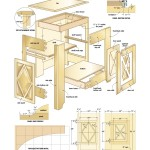 French Canadian cabinet woodworking plans 03