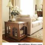 Side table with laptop compartment woodworking plans