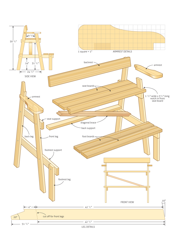 How To Build Wooden Bleachers PDF Free Download table plans for large ...