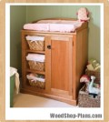 baby changing table woodworking plans 3