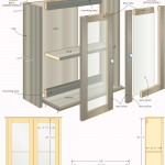 bathroom cabinet woodworking plans 04