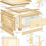 coffee table storage bench woodworking plans 07