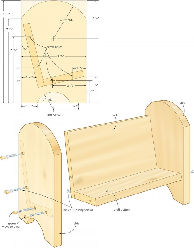 Bookcase Woodworking Plans | scyci.com
