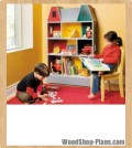 kids bookcase woodworking plans