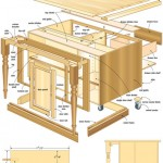 kitchen island woodworking plans 06