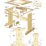 kitchen nook woodworking plans 02