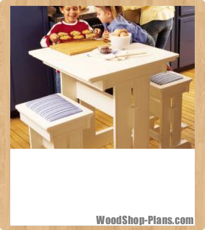 Kitchen table woodworking plans desk project shed - Kitchen table woodworking plans ...