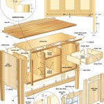 mission sideboard woodworking plans 02