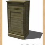 modular bar cabinet woodworking plans