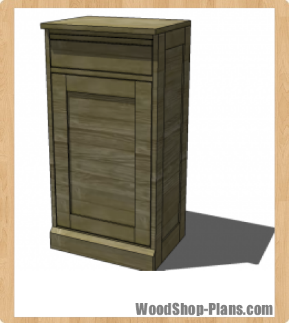 Modular Bar Cabinet Woodworking Plans Woodshop Plans