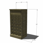 modular bar grid woodworking plans 02