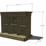 Bar and Game Table Woodworking Plans 2