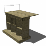 Bar and Game Table Woodworking Plans 3