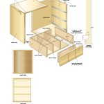 CD storage cabinet Woodworking Plans 2