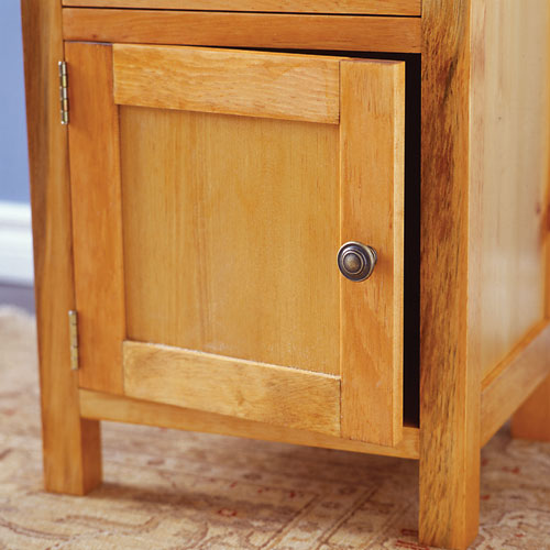 Classic night stand woodworking plans woodshop plans for Nightstand plans