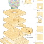 Gumdrop machine woodworking plans 3