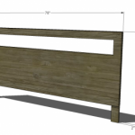 King Headboard Woodworking Plans 2