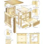 Mission end table woodworking plans 4