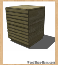 Stria Nightstand Woodworking Plans