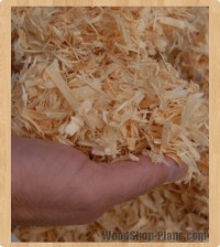 Use Wood Shavings To Remove Stripper Gunk