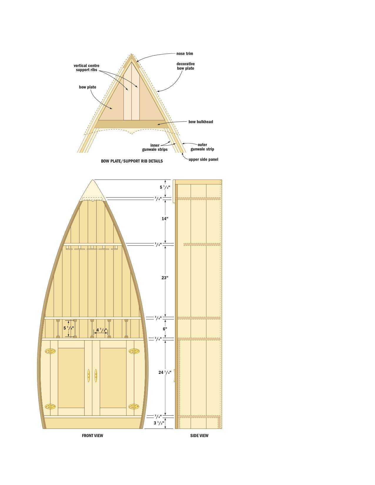 PDF DIY Boat Shaped Bookshelf Plans Download blanket chest plans ...