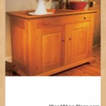 cherry dry sink woodworking plans