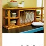 dish organizer rack woodworking plans