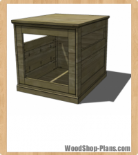 dog house woodworking plans