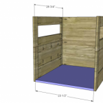 dog house woodworking plans step 3