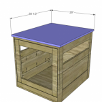 dog house woodworking plans step 6