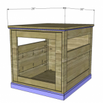 dog house woodworking plans step 7