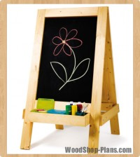 easel woodworking plans