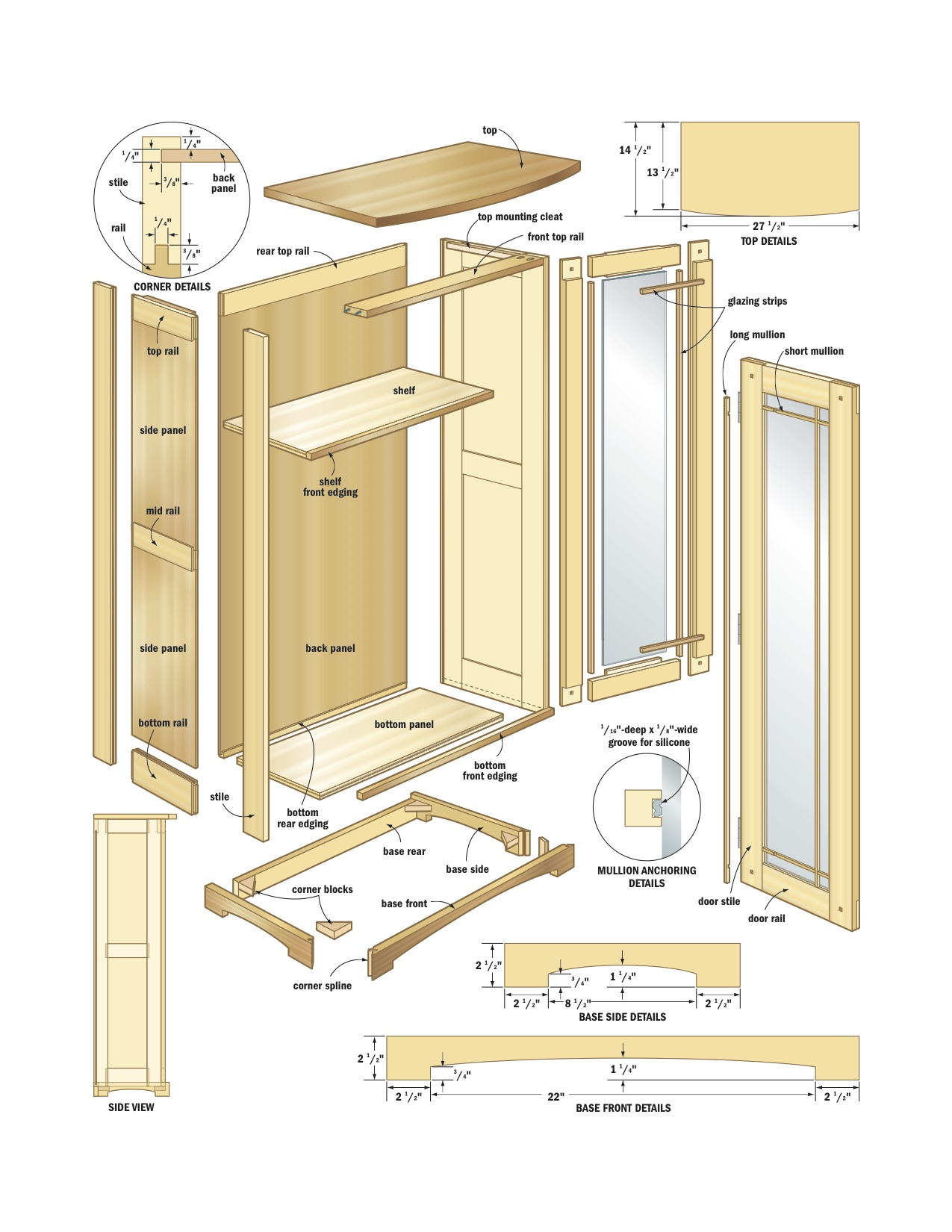 Pdf diy kitchen cabinet plans woodworking download kids for Kitchen cabinet plans