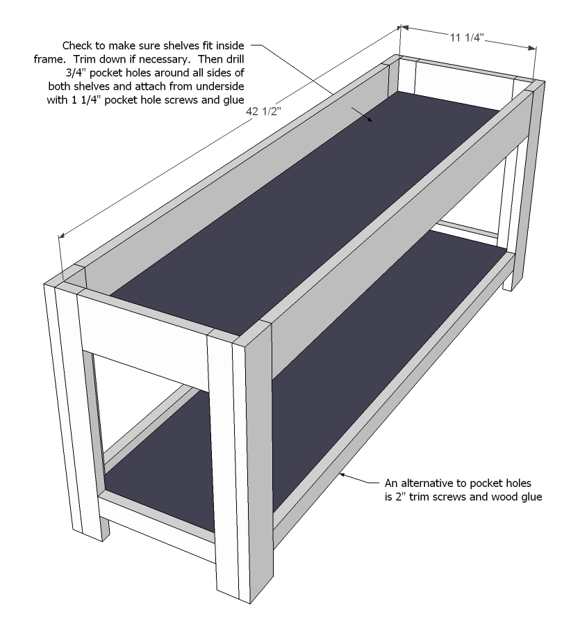 Cool Bench With Storage Woodworking Plan From WOOD Magazine