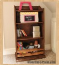 kids bookshelf woodworking plans