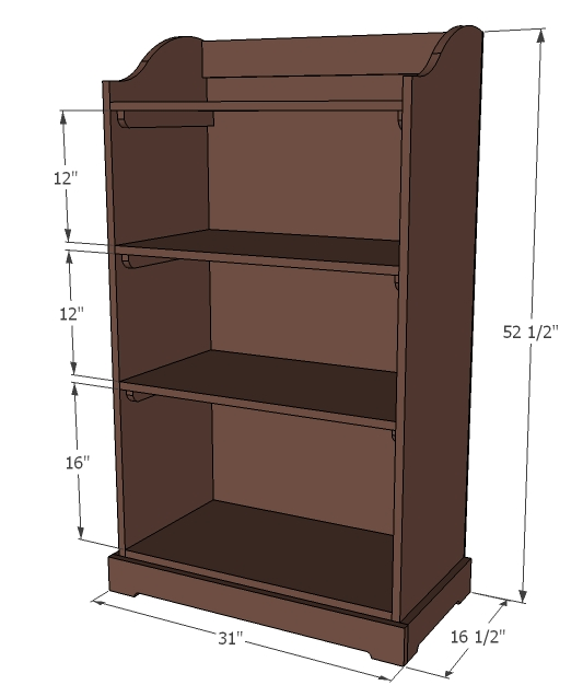 pdf diy bookshelf plans kids download bookcase bed frame