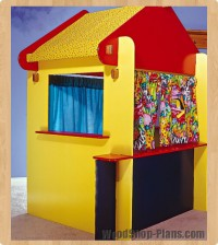 kids puppet theater woodworking plans