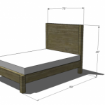 king bed woodworking plans 2