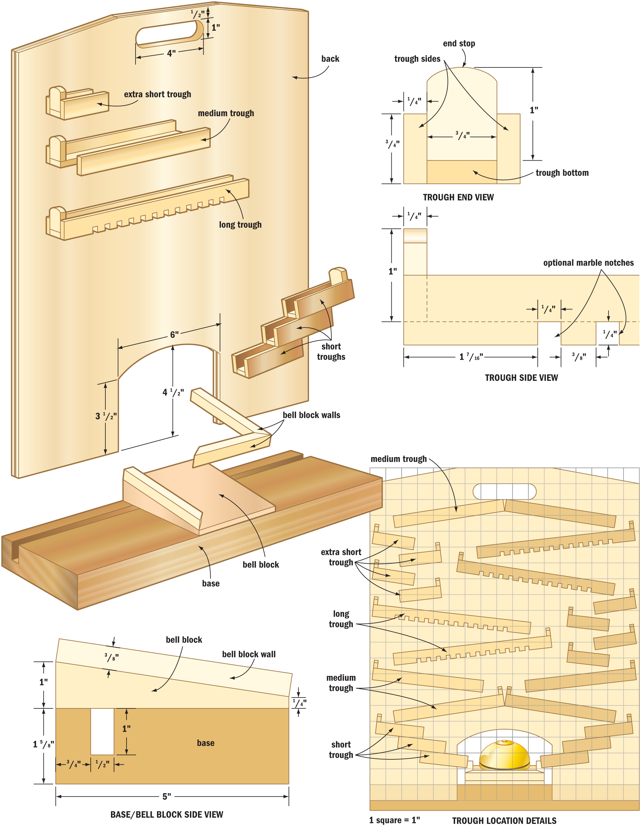 marble racer woodworking plans - WoodShop Plans