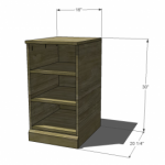 media bookcase woodworking plans 2