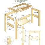 mission side table woodworking plans 2