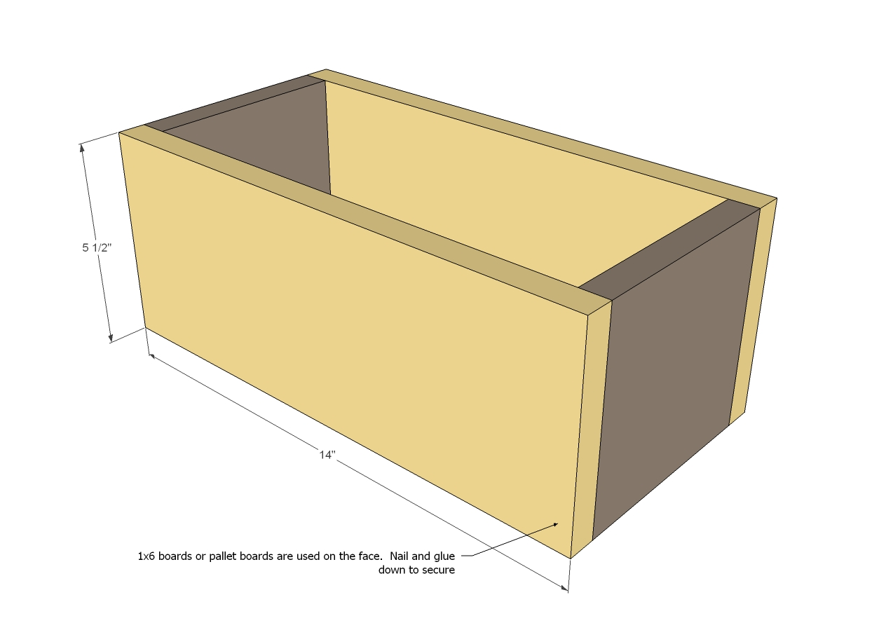 pallet storage boxes woodworking plans woodshop plans