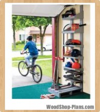 sports organizer woodworking plans 1