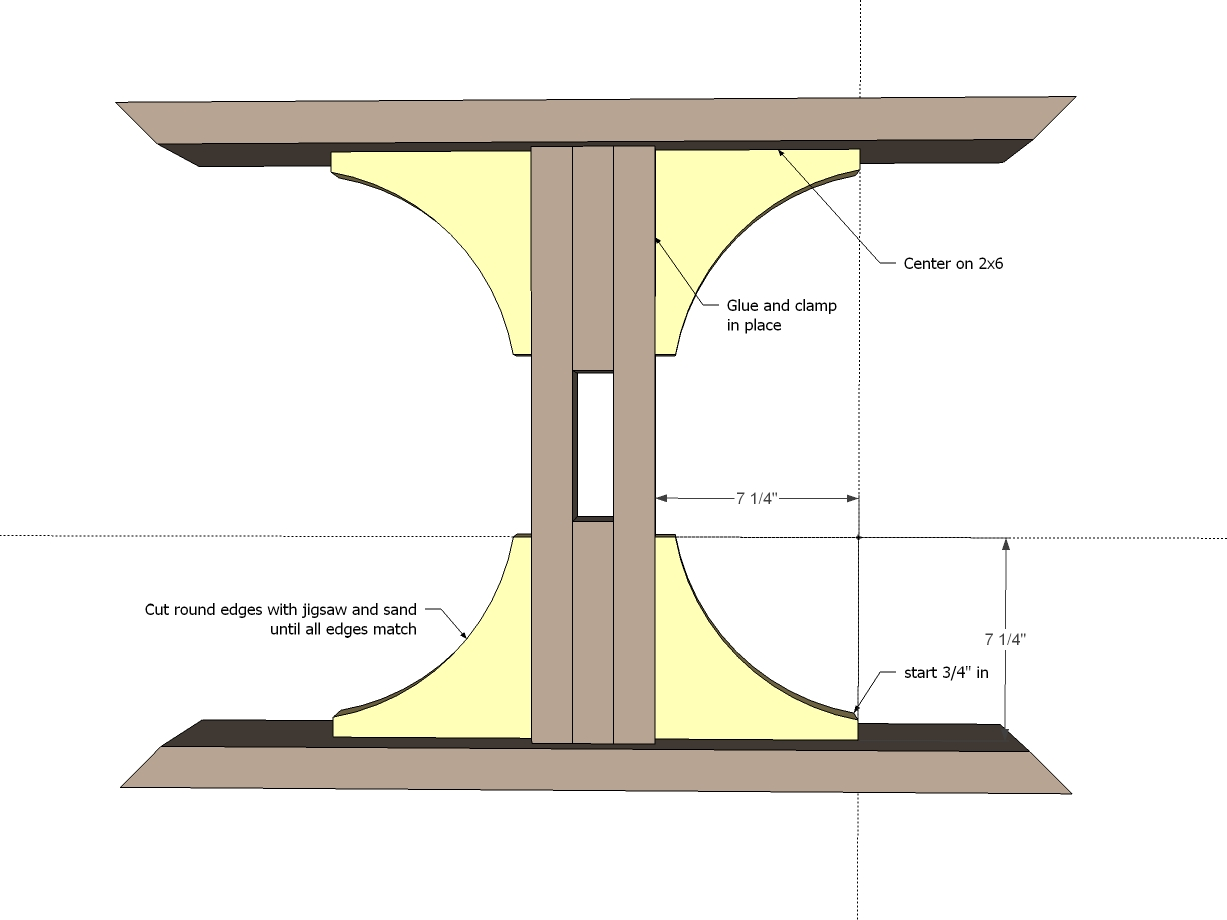 Farmhouse Table Plans Book PDF Woodworking besides Farmhouse Table ...