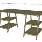 writing desk woodworking plans 2