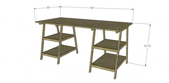 Popular Woodwork Plans Desk PDF Plans