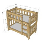 Doll Bunk Bed Woodworking Plans 2