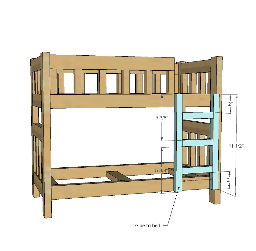 Pdf diy woodworking plans doll bunk beds download for Bunk bed woodworking plans